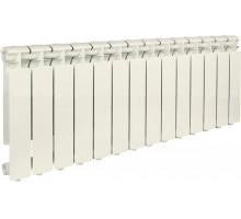 Алюминиевые секцион.радиаторы Bravo 350 AL-14с  ф1-в429ш80г80 STOUT
