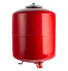 Бак с опорными стойками, красный на отопление 100 л. STOUT  ф 1