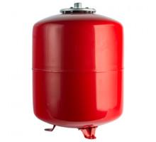 Бак с опорными стойками, красный на отопление 80 л. STOUT  ф 1