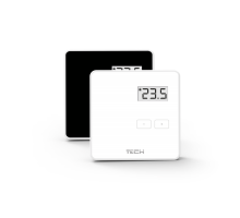 Беспроводной комнатный регулятор R-8z, черный, 230 B TECH STOUT