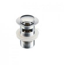 Донный клапан для раковины с переливом, BAR0801B, Tim