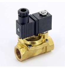 """Электромагнитный клапан 230V  для воды нормально открытый 1""""  EMMETI"""