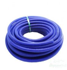 гофра для труб Синяя на 32 трубу