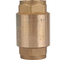 Клапан обратный пружинный с металическим седлом ф 1,   STOUT
