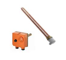 Комплект (ТЭН + термостат)  с фланцевым присоединен. 6 кВт,SUNSYSTEM