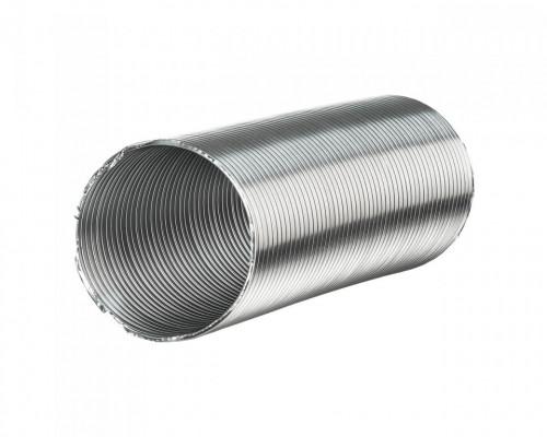 Круглый воздуховод гибкий алюминиевый 12,5ВА ф 125 длина 3м Эра
