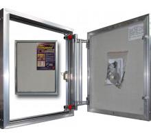 Люк невидимка под плитку алюмини ЕТР 60-120, Р 60ш х 120в см, Практика
