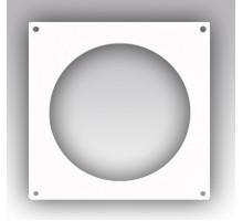 Накладка торцевая пластик 170х170, для воздуховода D125 Эра