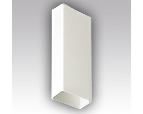 Плоский воздуховод пластик, Р 55-110, Длина 1, 5м