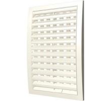 Решетка вентиляц. наружная, регулируемая, разъемная 180x250 IvoryЭра