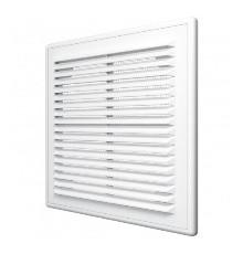 Решетка вентиляционная вытяжная АБС 150х150, бел. Эра