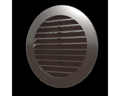 Решотка вентилиционная круглая с фланцом, 15РКН кор, ф 150, Эра