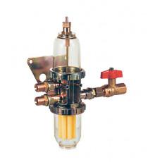 """Сепаратор воздуха для дизельного топлива с фильтром НЕ 10Watts ф 3/8"""""""