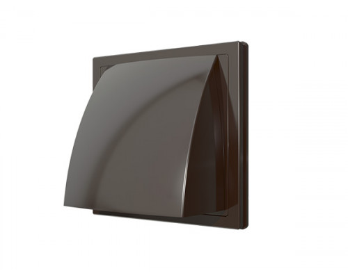 Стенной выходс обратным клапаном Коричневый 1515К10ФВ кор ф 100 Эра