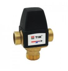 """Термостатический смесительный клапан, Дн 1"""" Н. Р. Tim"""