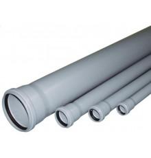 Труба канализационная с раструбом Ф110 Политэк 300см
