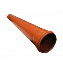 Труба канализационная с раструбом наружная Ф160х4,9мм 300см