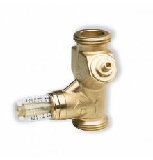 Вентиль ручной балансировочный с расходомером Watts, угловой  ф 1
