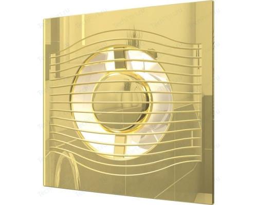 Вентилятор с обратным клапаном SLIM 4C Gold ф 100 Эра