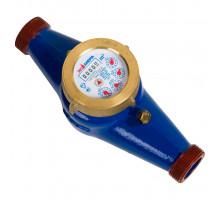 """Водосчетчик холодной воды многоструйный ф 1"""" L260 мм Экомера"""