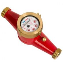 Водосчетчик универсальный, импул. многоструйный ф 40,  L300 мм Экомера