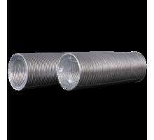 Воздуховод гибкий алюминиевый гофрированный, L до 1,5м ф 100 Эра
