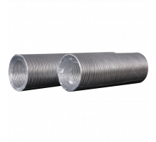 Воздуховод гибкий алюминиевый гофрированный, L до 1,5м ф 120 Эра