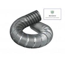 Воздуховод спирально-навивной из нержавею. стали,D120, L до 1м Эра