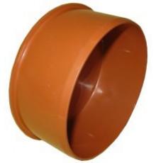 Заглушка канализационная наружная ф110