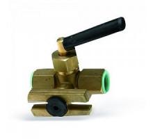 """Запорный кран для манометра с фланцем RM 15 Р-MМ, В.Р.  WATTS ф 1/2"""""""