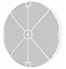 Защита от обратной тяги 12,5BV, ф 125 Эра
