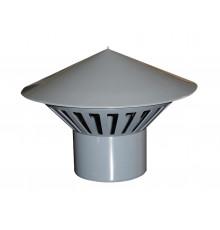 Зонт для внутреней канализации вентиляционный Ф110 мм Политек