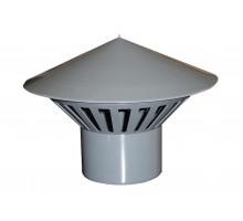 Зонт для внутреней канализации вентиляционный Ф50 мм Политек